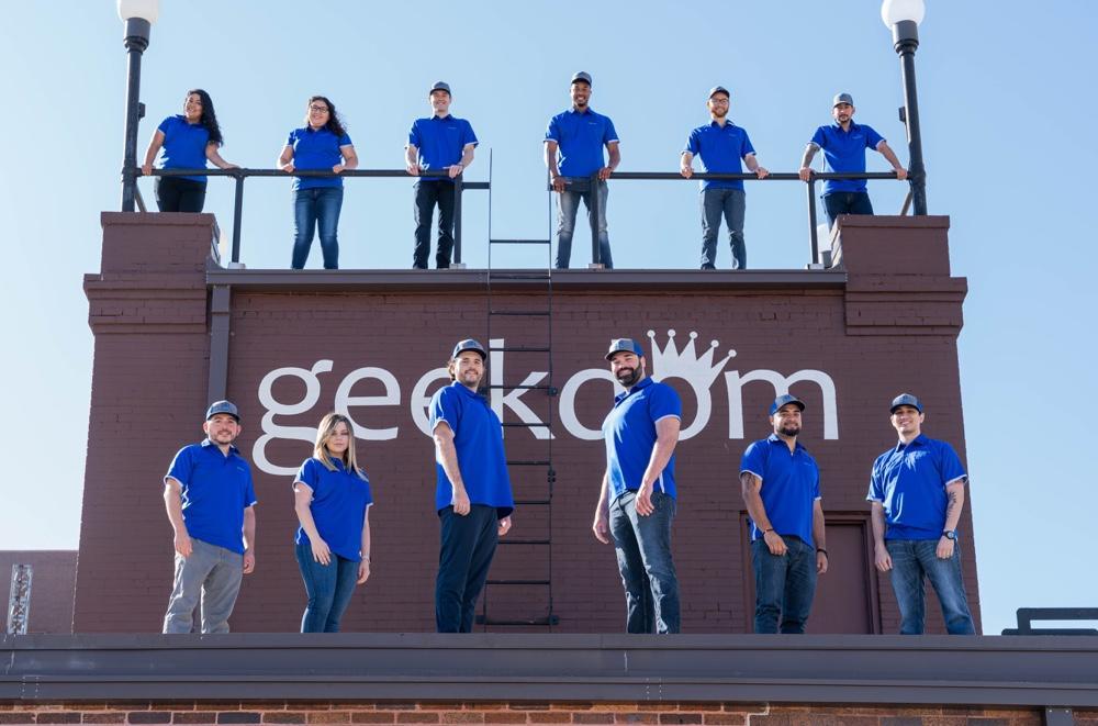 Braustin Homes Team at Geekdom
