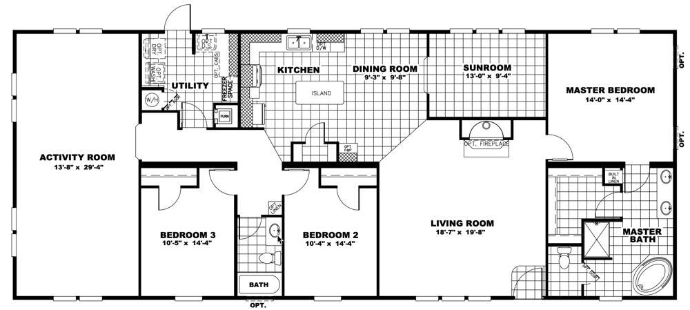 Clayton Schult -  Charleston 32X74 floorplan