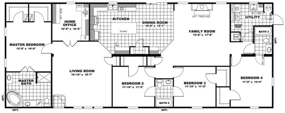 Clayton Schult -  Savannah 32X76 floorplan