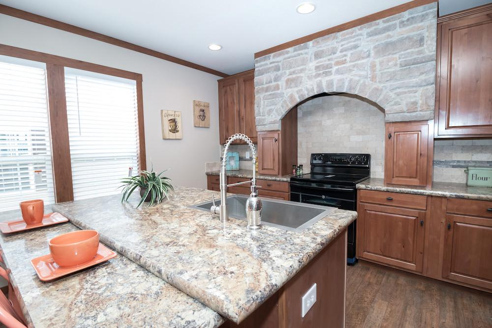 Schult mobile home model St Louis kitchen view 02
