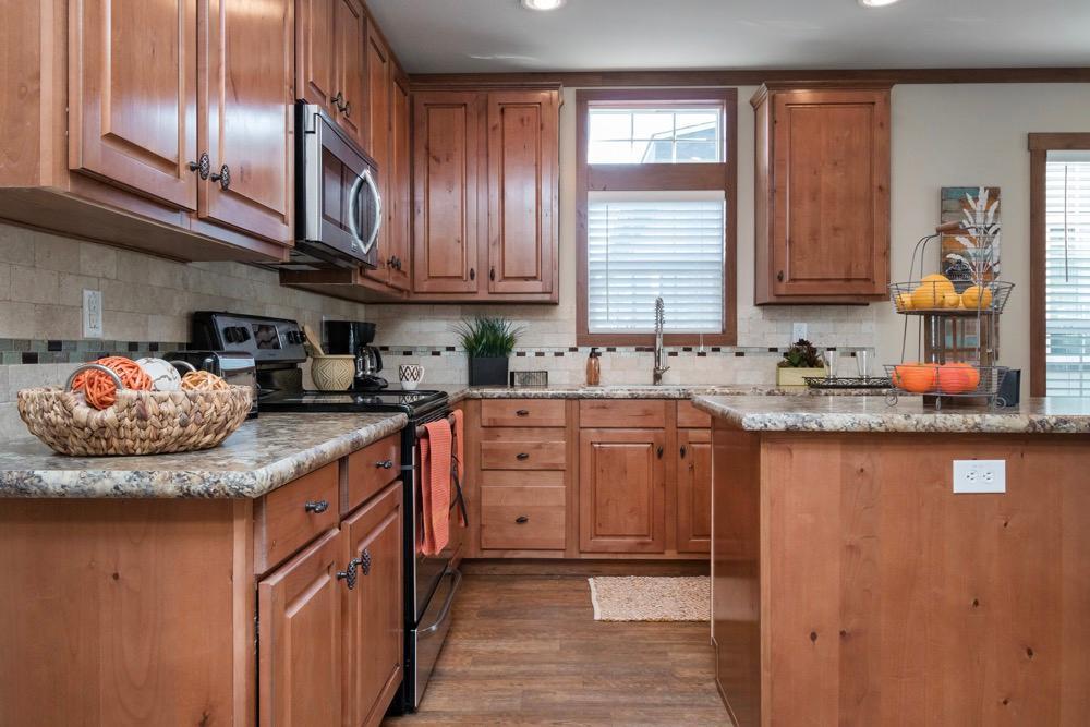 clayton developer mobile home model stewart kitchen view 1
