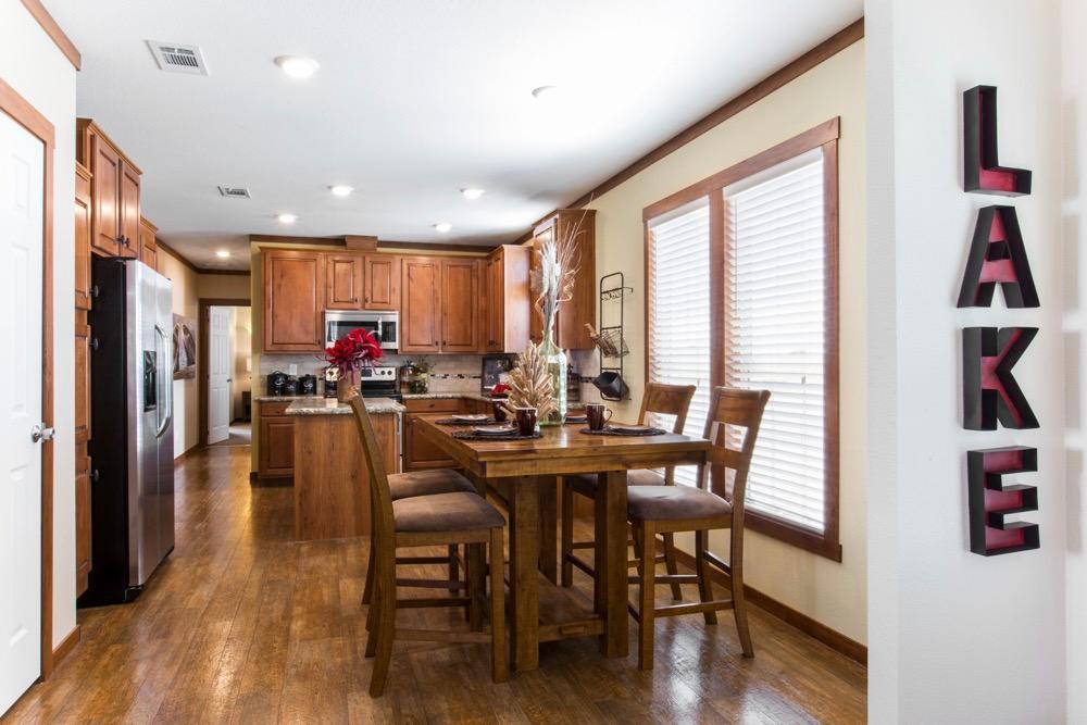 clayton mobile home stewart 28 kitchen view 1