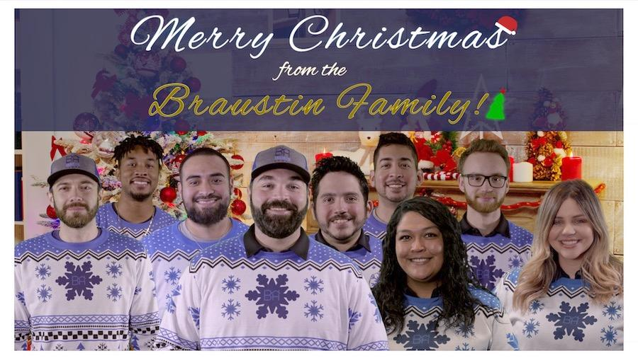 Merry Christmas from Braustin Homes team photo