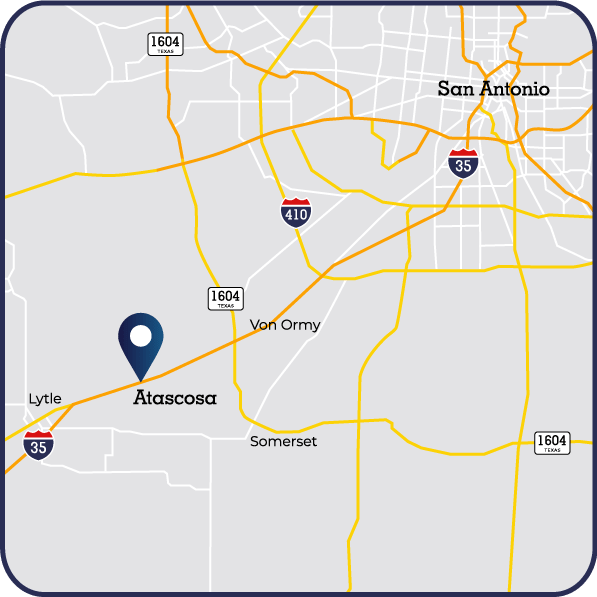 Braustin Homes Dealership Atascosa TX Map