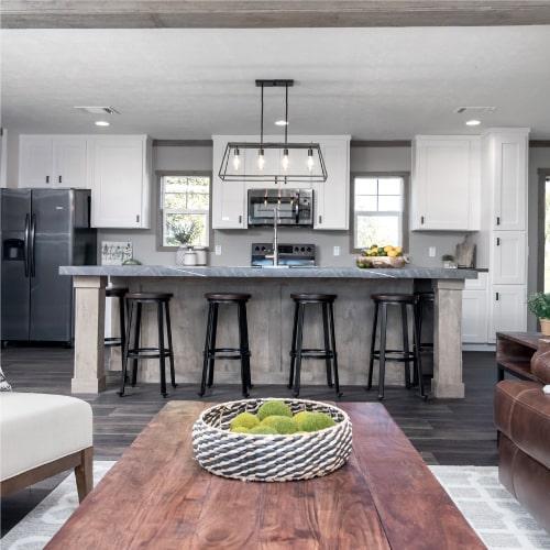Clayton Isabella model mobile home kitchen
