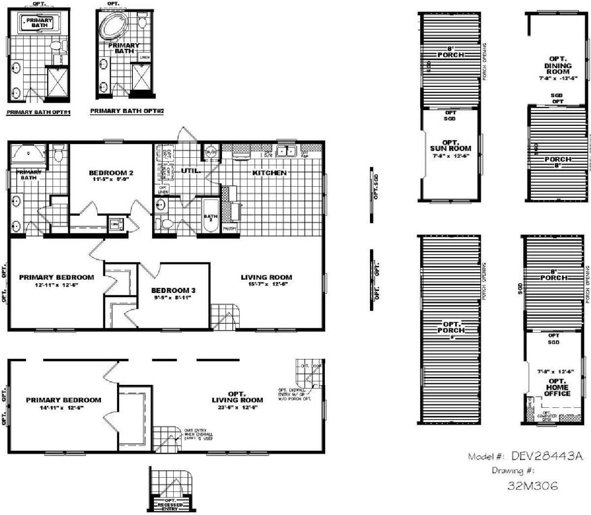 Clayton Developer - Hogan 28X44 | Braustin - A Better Way Home